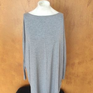PIKO Grey Tunic-Size Small